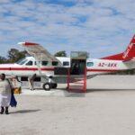 plane botswana