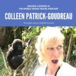 Colleen Patrick-Goudreau surprised to see a baby gorilla