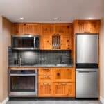 deluxe studio kitchenette