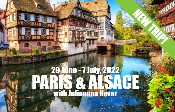 Julieanna Paris & Alsace 2022