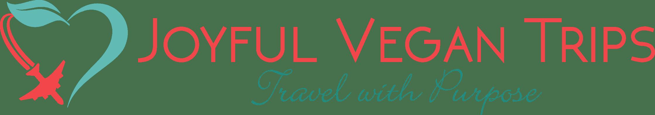 joyful vegan trip logo