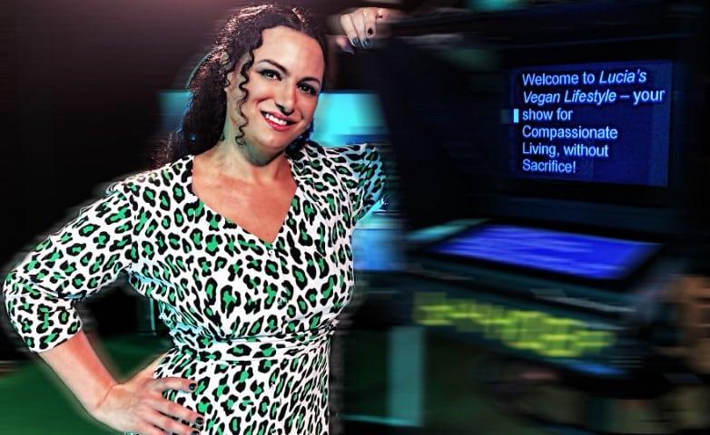 Lucia Grillo in TV Studio